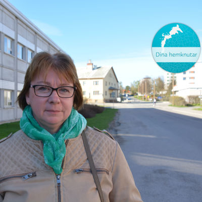 Åsa Blomstedt, stadsstyrelsens ordförande i Kristinestad.