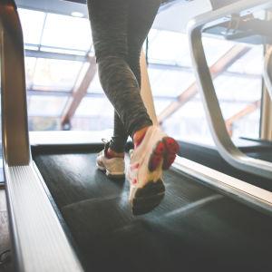 Löpning på löpmatta