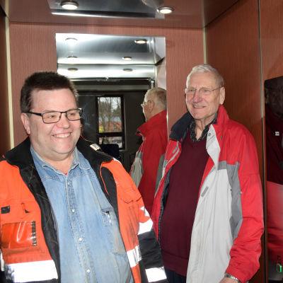 Ulf Österman och Tor Wernér