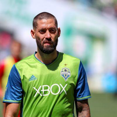 Clint Dempsey på fotbollsplanen.