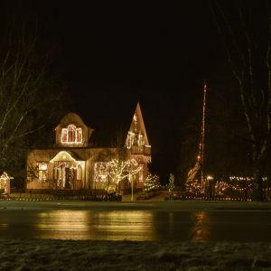 Julbelysning i Forsby, Pedersöre