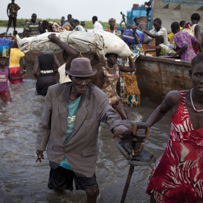 sydsudanesiska flyktingar
