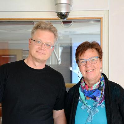 Mats Sjöström och Inger Helenius