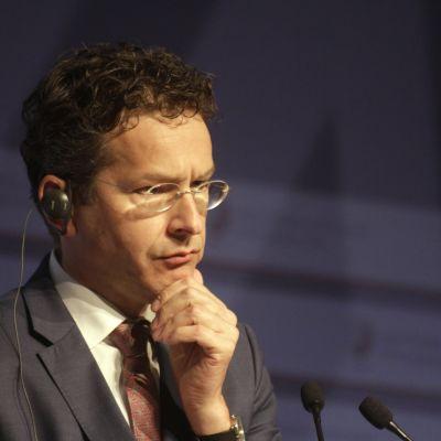 Eurogruppens ordförande nederländaren Jeroen Dijsselbloem