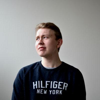 Profilporträtt Hannes Holmlund