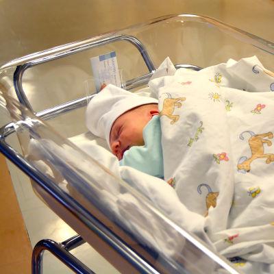 Nyfödd på BB.