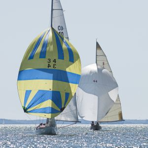 Segelbåtar på Erstan.