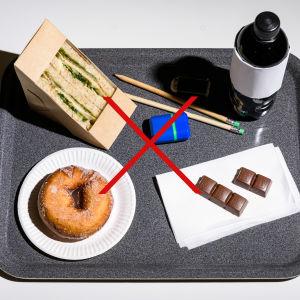 Dålig mat för studentskrivningarna