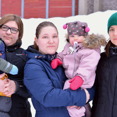 kvinnor med småbarn