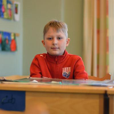 Jim Lindqvist är elev i Billnäs skola.