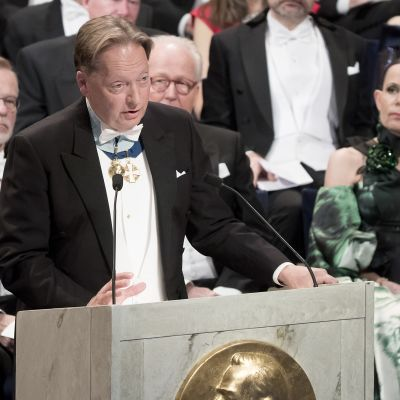 Horace Engdahl under Nobelfesten 2016