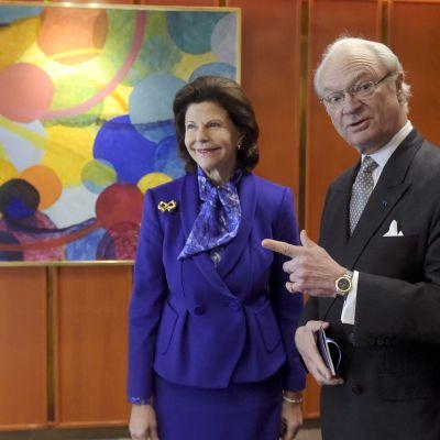 Drottning Silvia och kung Carl XVI Gustaf