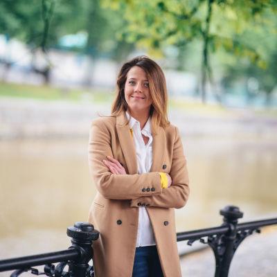 Ida Schauman, ordf för Svensk Ungdom
