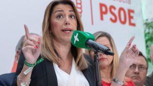 Susana Diaz leder socialisterna i Andalusien