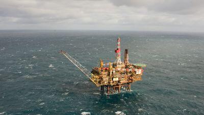 Shells oljeplattform Gannet Alpha