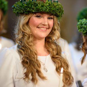 Finlands lucia 2018 Elin Qvist.