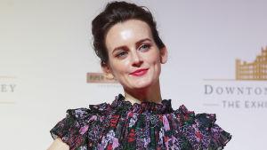 Sophie McShera som spelade hjälpkocken Daisy Mason i Downton Abbey.