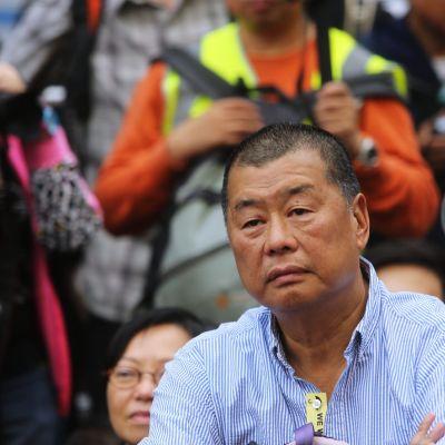 Mediemogulen Jimmy Lai är en av Hongkongs mest kända antikinesiska demokratiaktivister.