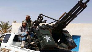 libyska soldater förbereder sig för attack mot IS