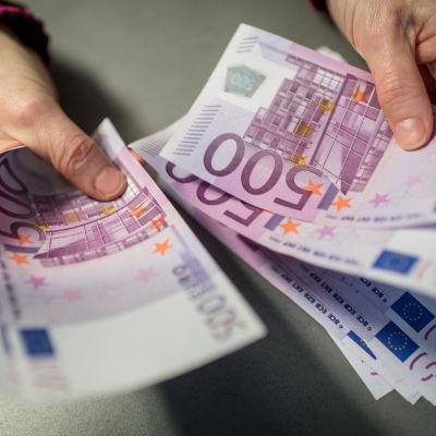 Sedlar av valören 500 euro