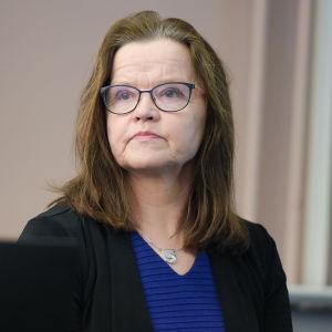 Inrikesministeriets kanslichef Päivi Nerg.