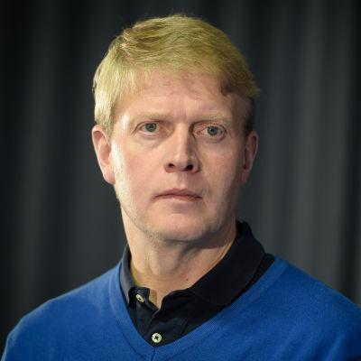Jukka Rautakorpi, chefstränare för Finlands juniorlandslag i ishockey.