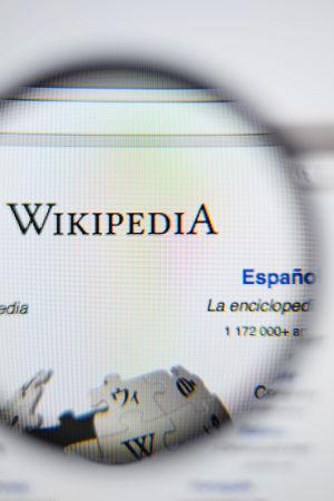 Wikipedia logo ja suurennuslasi
