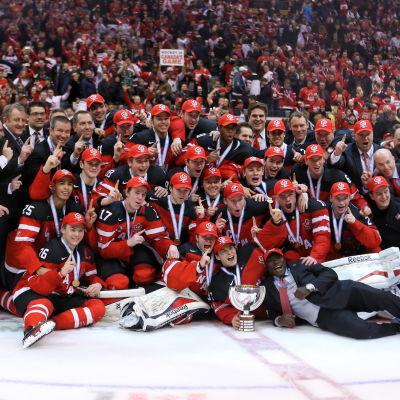 Kanada vann juniorvärldsmästerskapet i ishockey 2015.