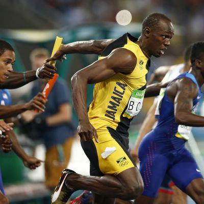Usain Bolt Rion pikaviestissä