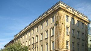 Deutsche Banks hus på boulevarden Unter den Linden inhyste Guggenheims museum i Berlin i femton år fram till 2012.