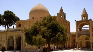Den armeniska Vank-katedralen i den iranska staden Esfahan