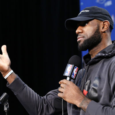 LeBron James talar.
