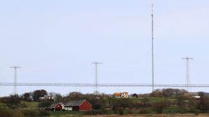 Radiostationen Grimeton i Sverige.