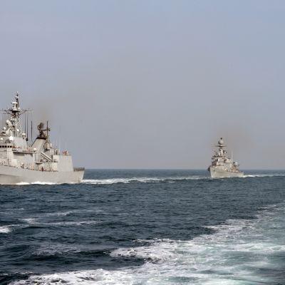 Sydkoreanska fartyg