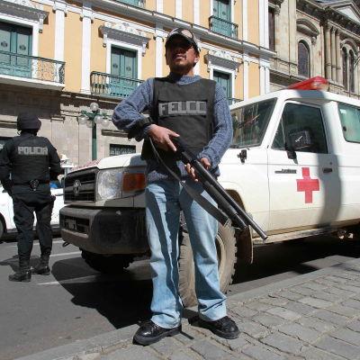 Polis i Bolivia.