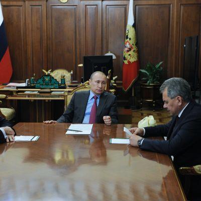 Lavrov, Putin, Shoigu