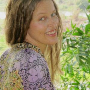 Janna Thorström, ett porträtt taget i Indien