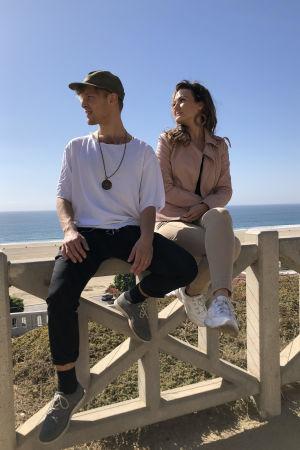 Artisterna Elna Romberg och Simon Zion