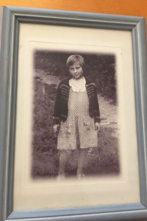 Bild på sjuåriga Tanja.