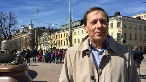 Kim Jordas på Finlands Yrkesfiskarförbund