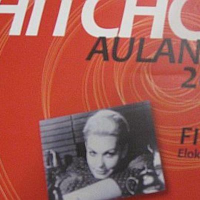 Hitchcock Aulangolla -tapahtuman juliste