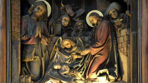 Stilla natt-kapellet i Oberndorf.