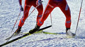 Norska skidåkare
