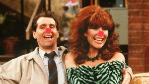 Al och Peggy Bundy med röda näsor. Grafik: Lasse Grönroos.
