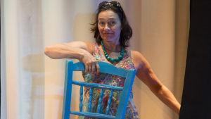 Nina Hukkinen spelar Shirley Valentine på Luckan