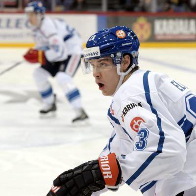 Aleksi Elorinne, EHT-turneringen Helsingfors, hösten 2015.