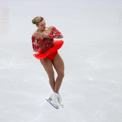 Emmi Peltonen lyckades i EM-debuten i Tjeckien.