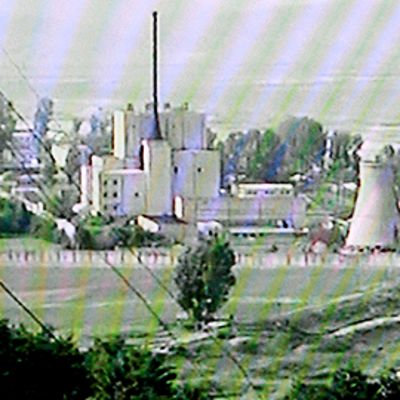 Yongbyonin ydinvoimala Pohjois-Koreassa.