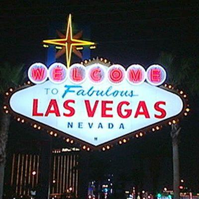 Las Vegas -kyltti