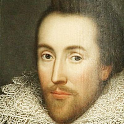 Shakespeare Birthplace Trustin esittelemä Shakespearen muotokuva.